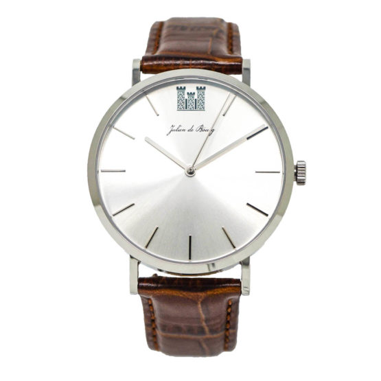 Automatic Saint-Rémy Silver-Brown Men Watch